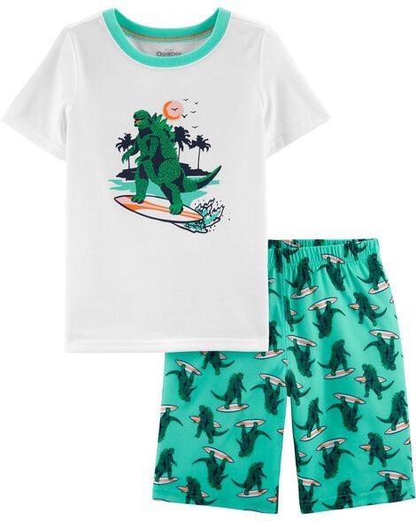 2-Piece Dinosaur PJs