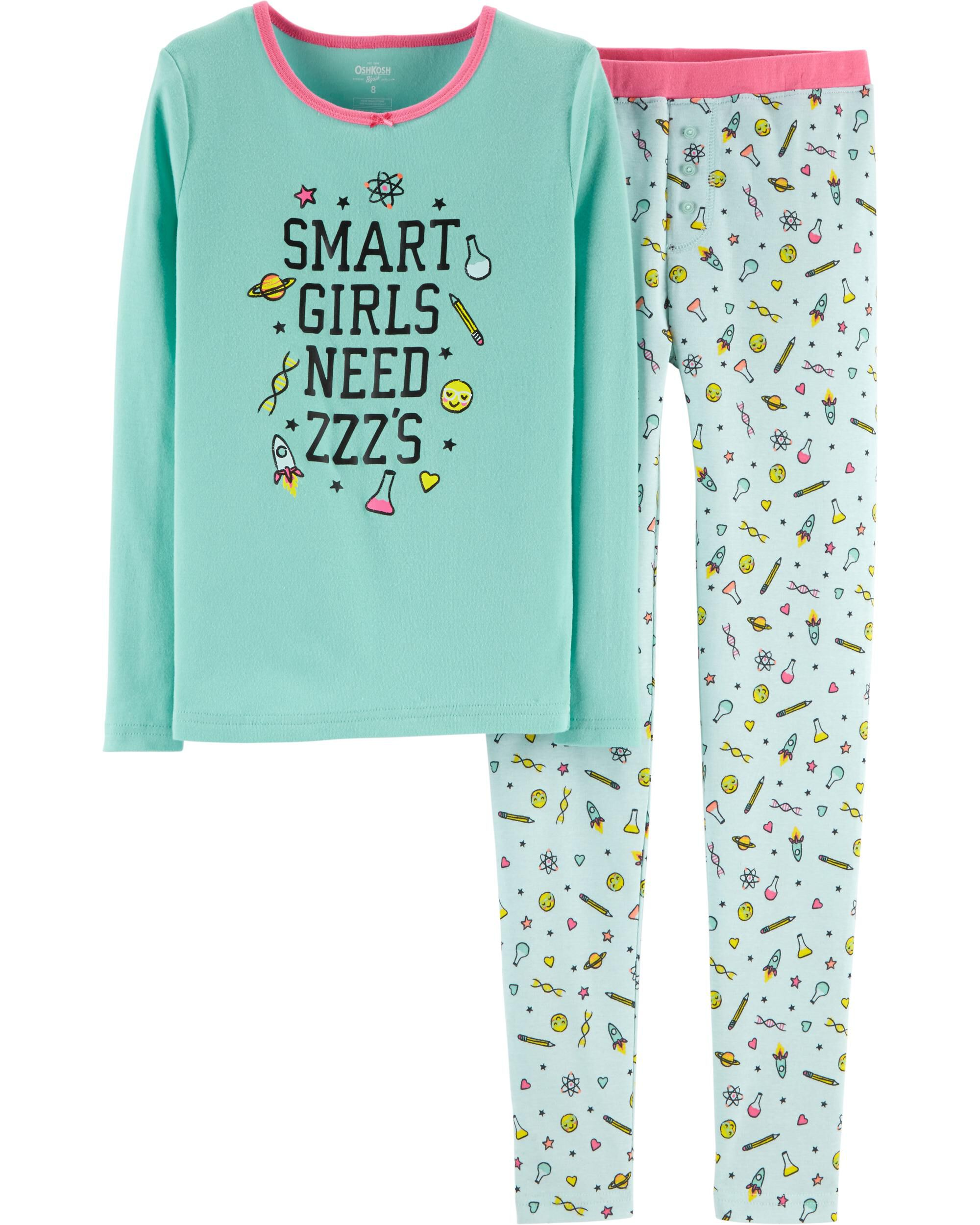 c038a71d050e Snug Fit Smart Girl Cotton PJs