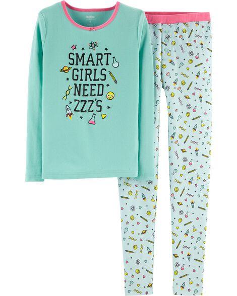 Snug Fit Smart Girl Cotton PJs