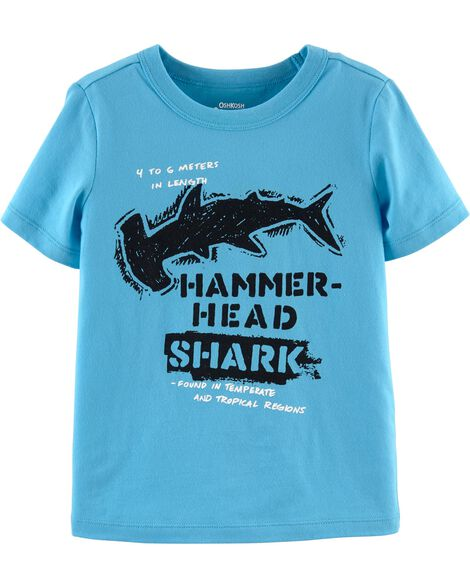 OshKosh Originals Shark Graphic Tee