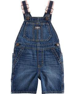 2eb31780ed0 Toddler Boy Overalls in Denim