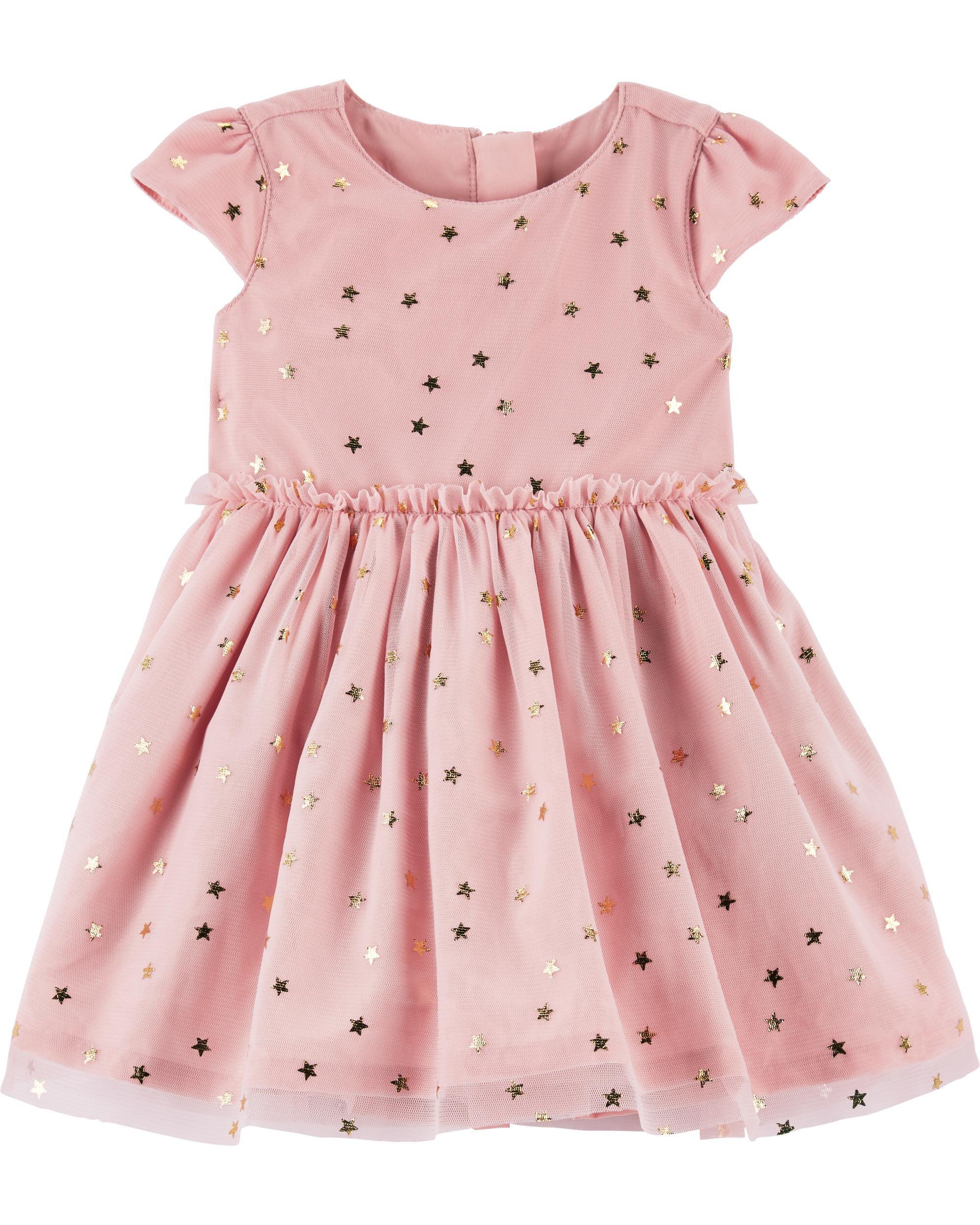 1c0b7bb01c55 Star Tulle Holiday Dress
