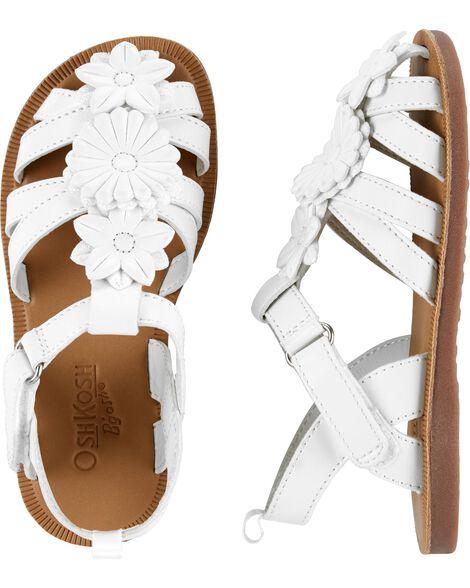 OshKosh Flower Sandals