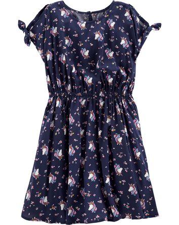 8abab00e8e5a8 Kid Girl Dresses & Rompers | OshKosh | Free Shipping