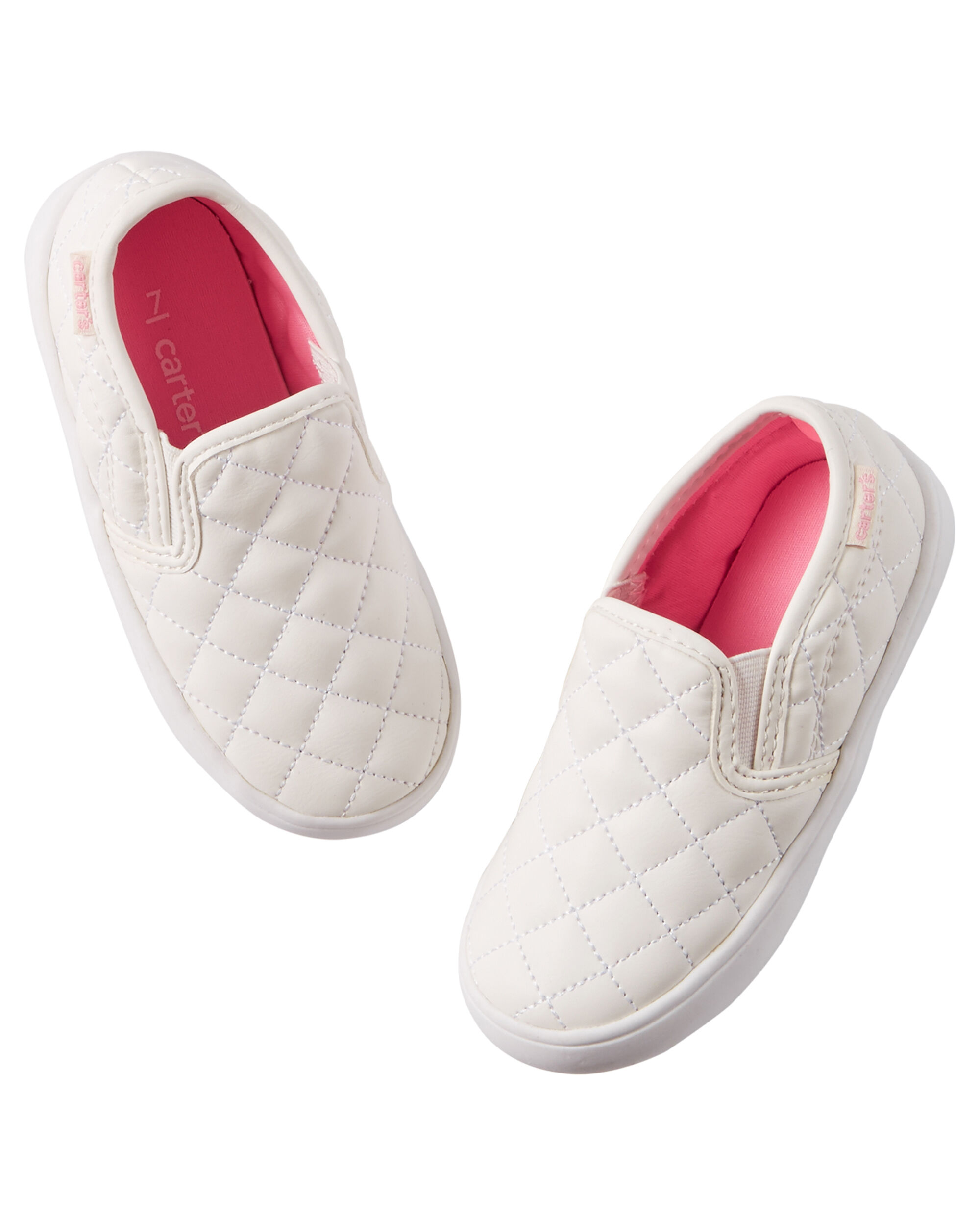 Baby Girl Carter s Quilted Slip Shoes