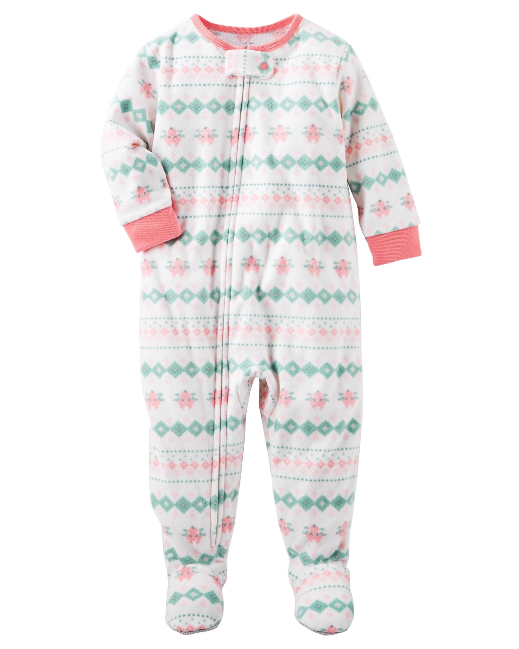 fleece with pyjama toddlers infant sleeper boys button pajama bottoms sleeping sleepers gown suit months one piece cotton feet up without pajamas baby
