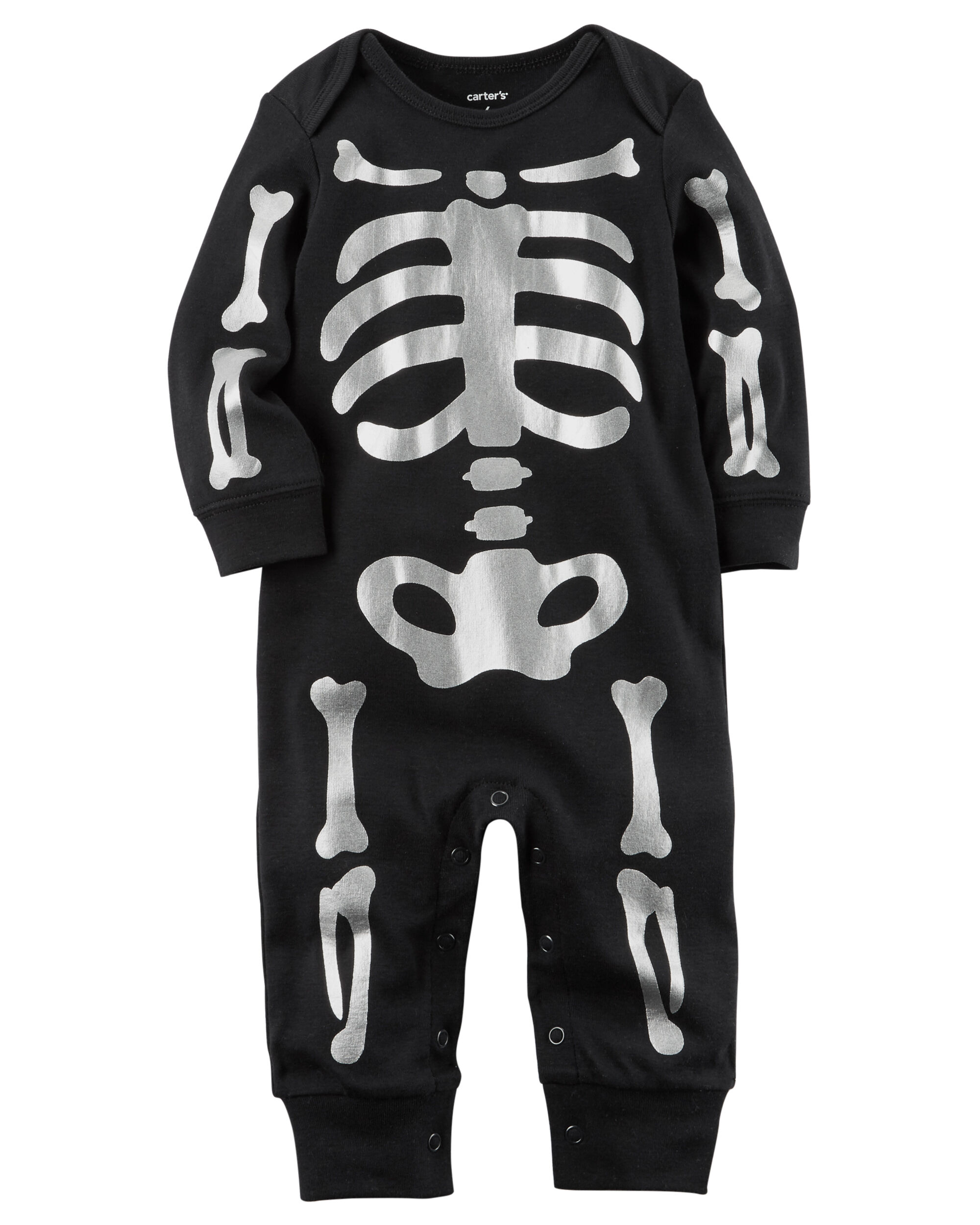 951616ffb Baby Boy Halloween Skeleton Jumpsuit