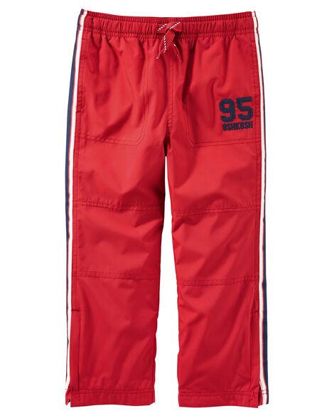 366f75d77 Jersey-Lined Logo Active Pants | OshKosh.com