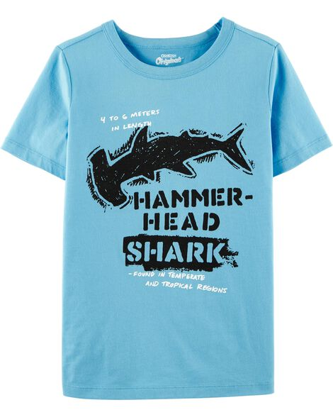 OshKosh Originals Shark Graphic Tee
