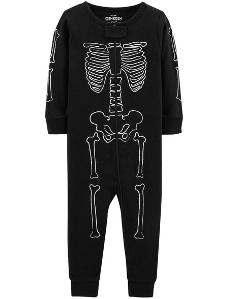 db1576a72 1-Piece Skeleton Cotton PJs