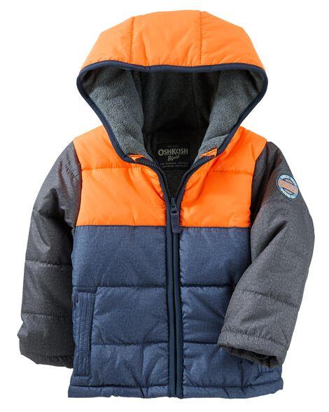 Colorblock Heavyweight Bubble Jacket