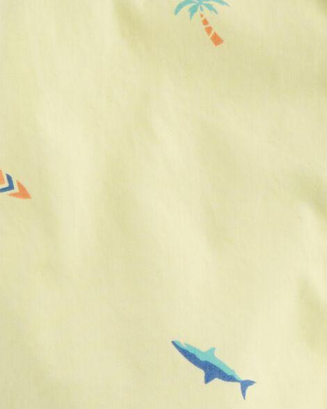 Button-Front Surf Bodysuit