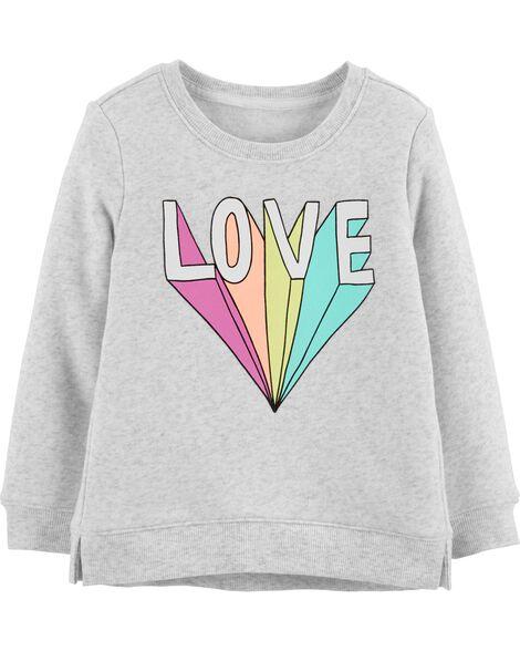 Rainbow Love Pullover