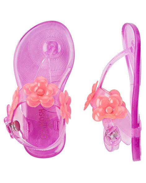 2b860c637e6d Images. OshKosh Embellished Jelly Sandals