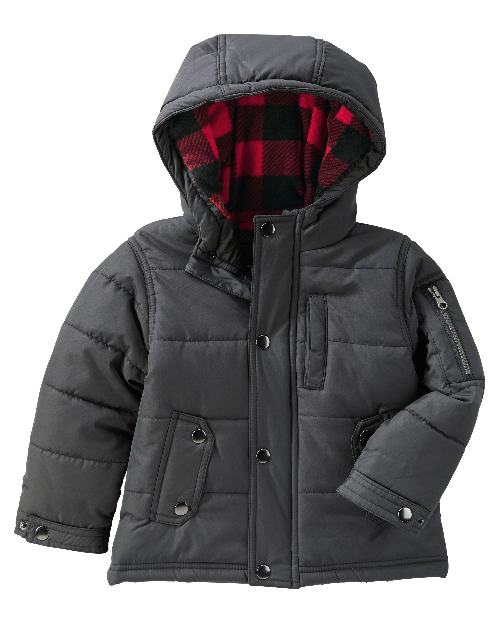 Boys Jackets, Coats & Outerwear | OshKosh | Free Shipping