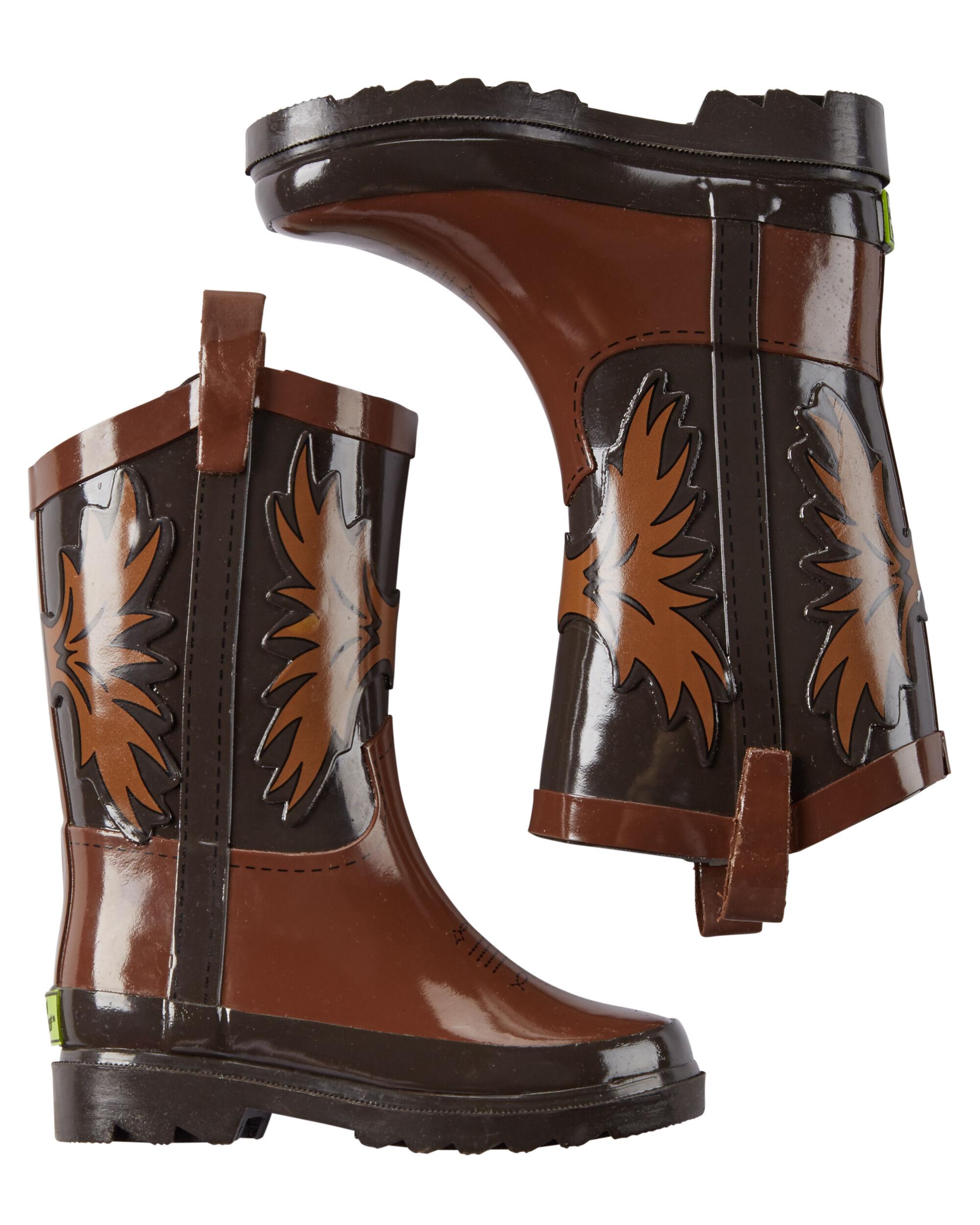 Baby Boy Western Chief Cowboy Rain Boots
