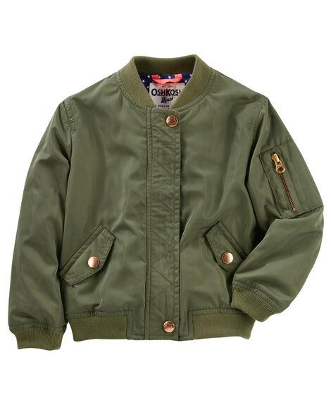 86b0d57c95ae Twill Bomber Jacket