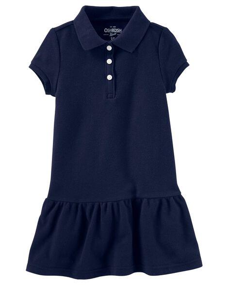 Piqué Polo Uniform Dress