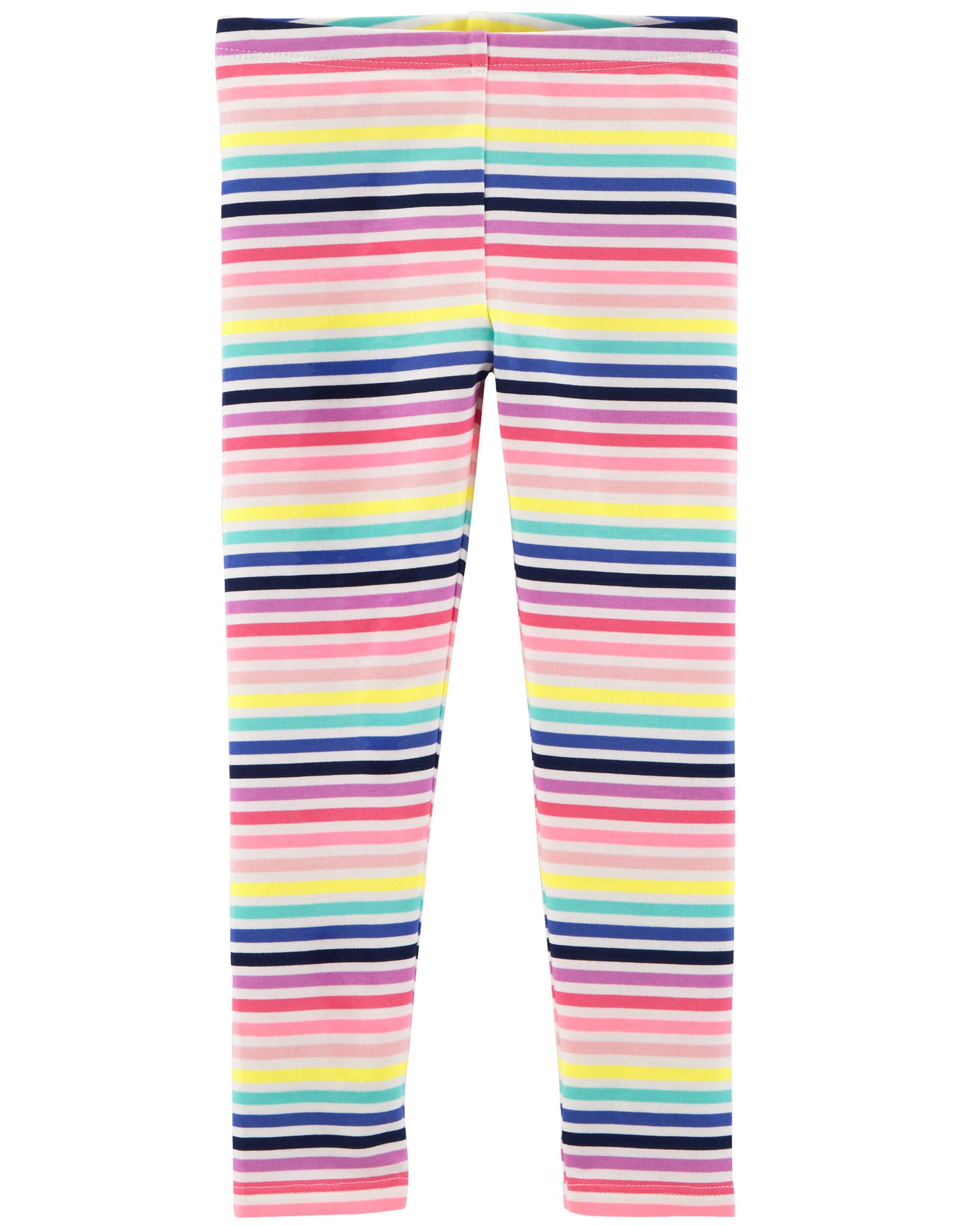 Toddler//Kid OshKosh Bgosh Little Girls Neon Leggings