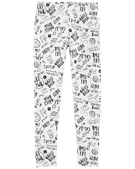 Mix Kit Doodle Leggings
