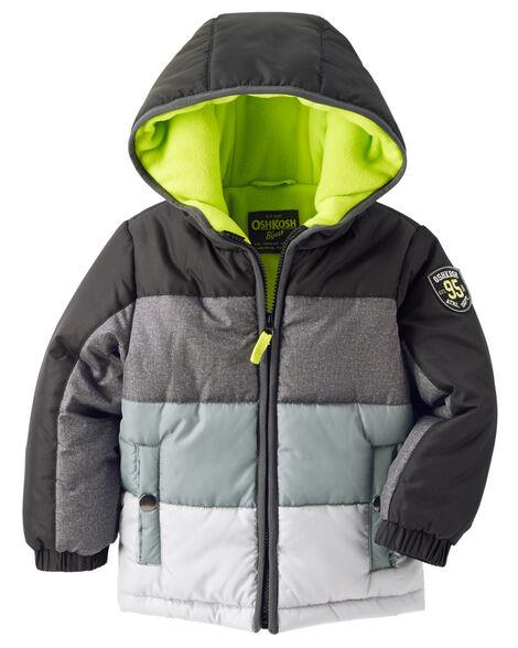 80805b381d0 Images. OshKosh Colorblock Heavyweight Jacket