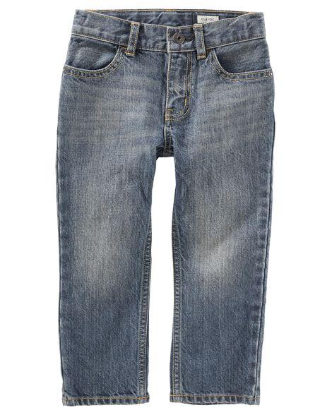 Classic Jeans Rail Tie True Blue Wash Oshkosh Com