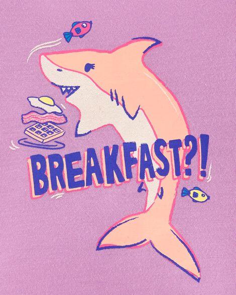 2-Piece Shark Pjs