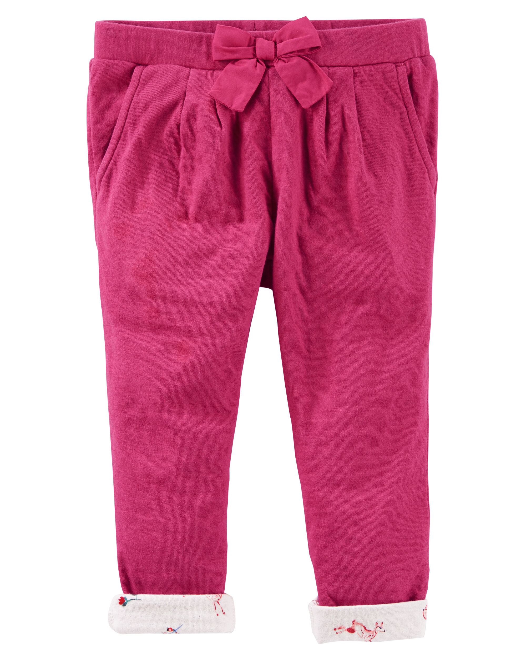 Double-Knit Pull-On Pants