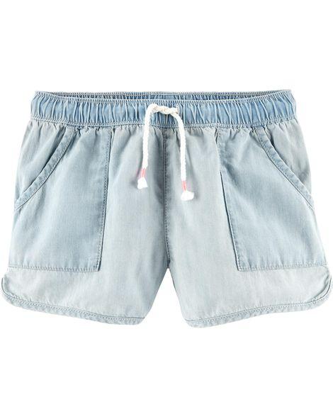Denim Sun Shorts