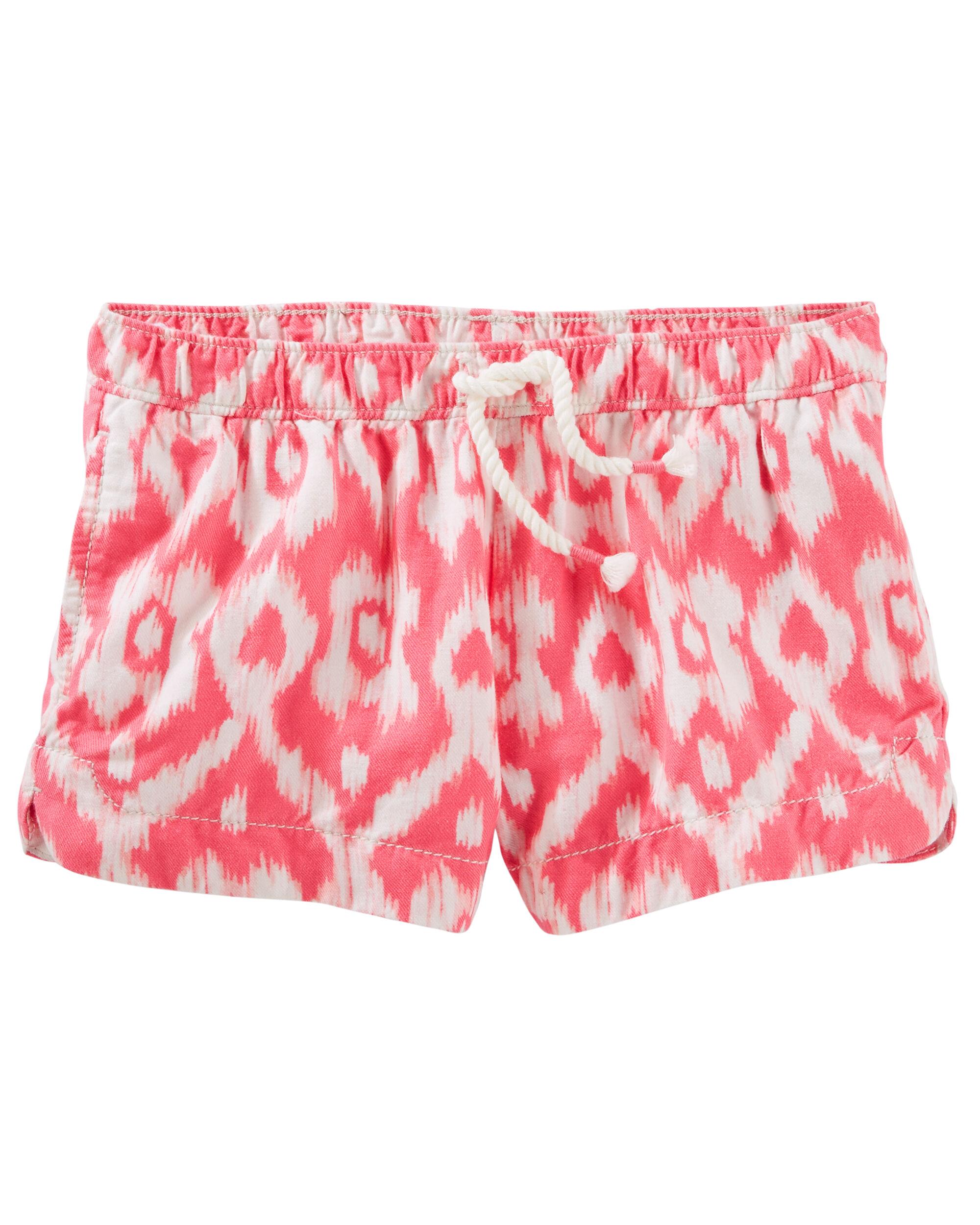 Ikat Print Sun Shorts