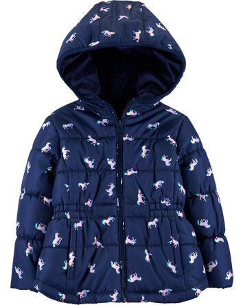 3d274c9e8 Toddler Girl Outerwear | OshKosh | Free Shipping
