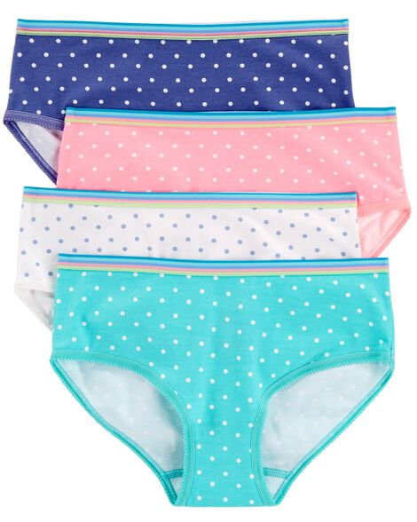 4-Pack Stretch Cotton Panties