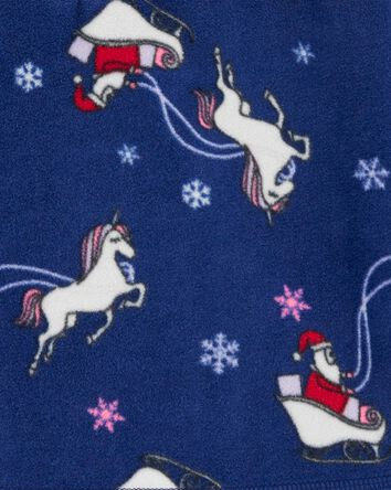 Christmas Unicorn B'gosh Fleece Coz...