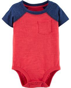 7e9a2f87d519 Pocket Jersey Bodysuit