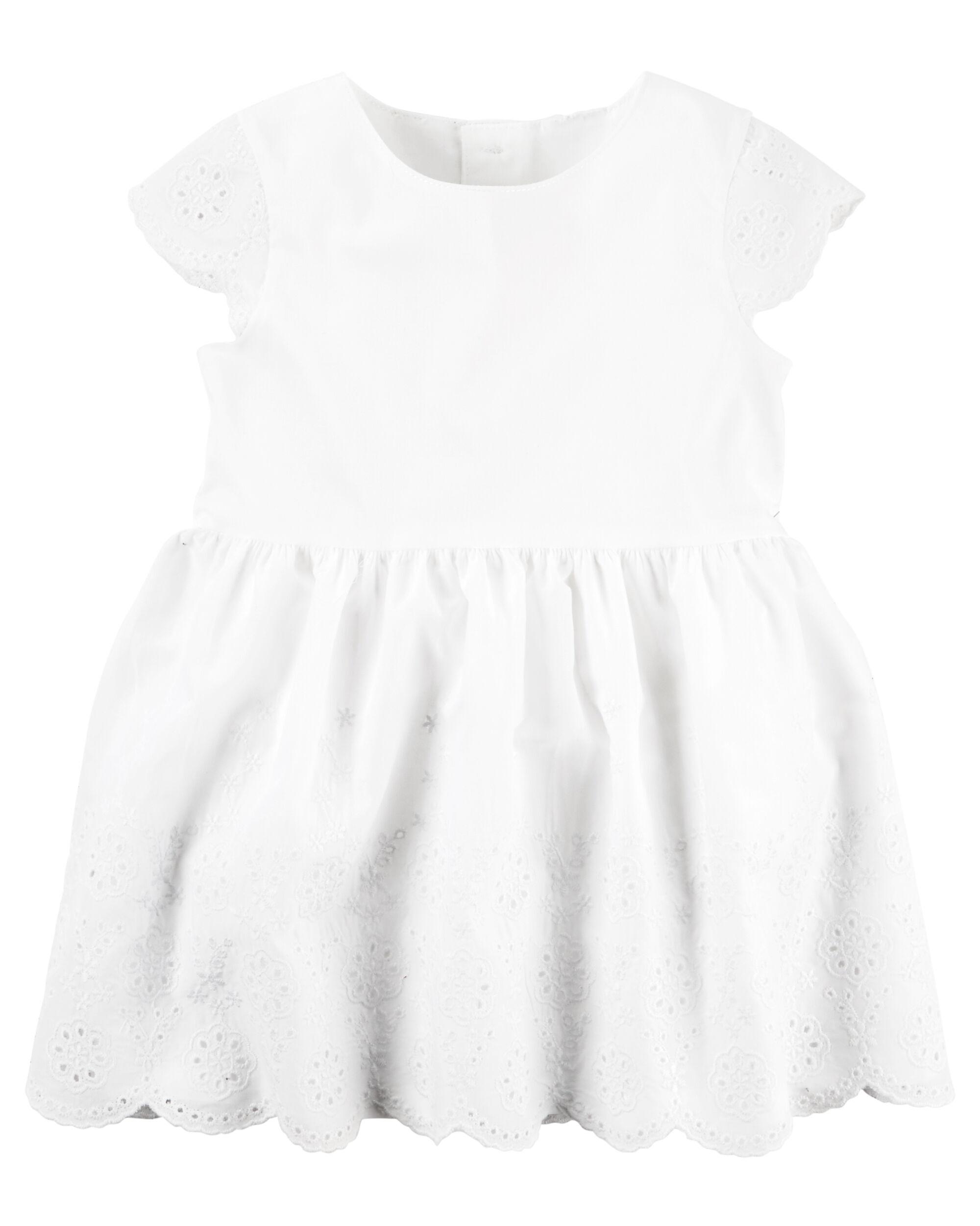Baby Girl Eyelet Dress