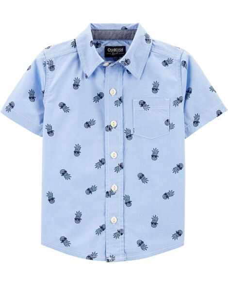 f438b5eafd Pineapple Button-Front Shirt ...