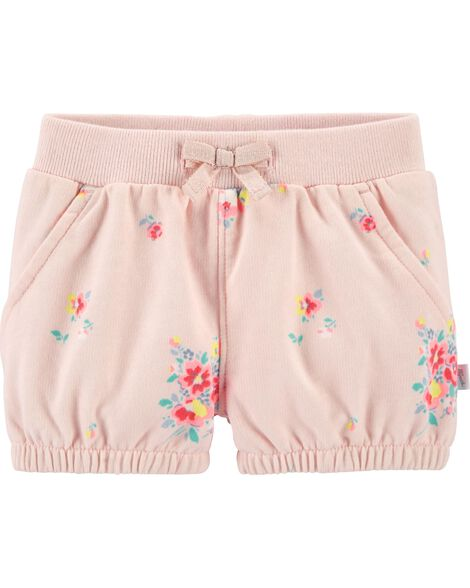 Floral Bubble Shorts