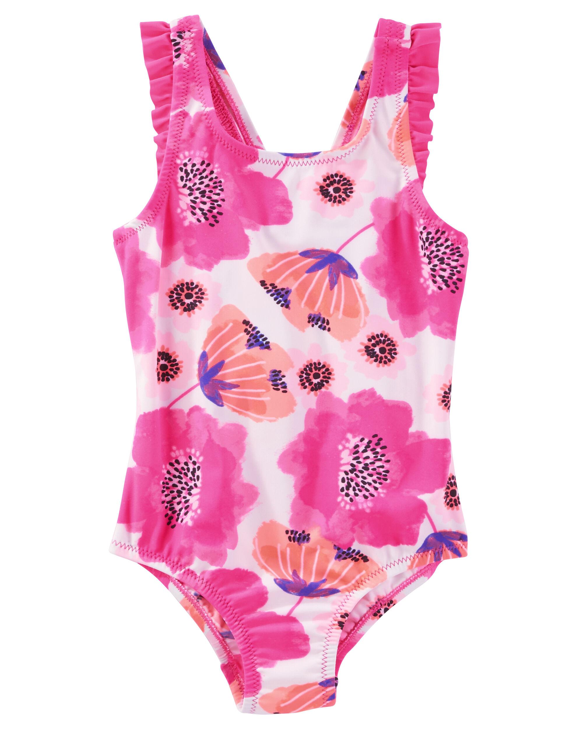 cad5236250500 Images. OshKosh Ruffle Bow-Back Swimsuit