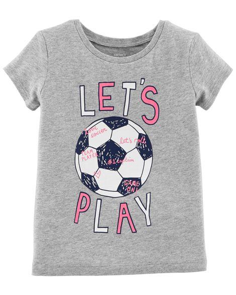 Toddler Girl Soccer Jersey Tee  cd49cfc05