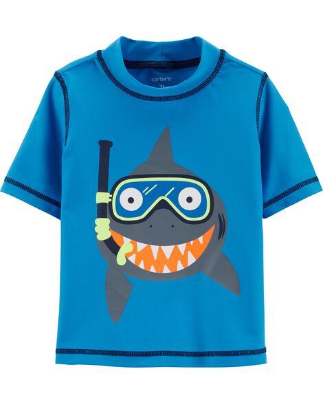 46e44e306 Baby Boy Carter's Shark Rashguard | Carters.com