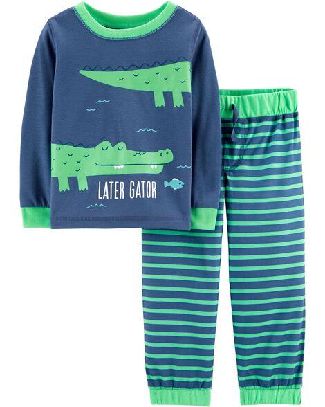 2-Piece Alligator PJs