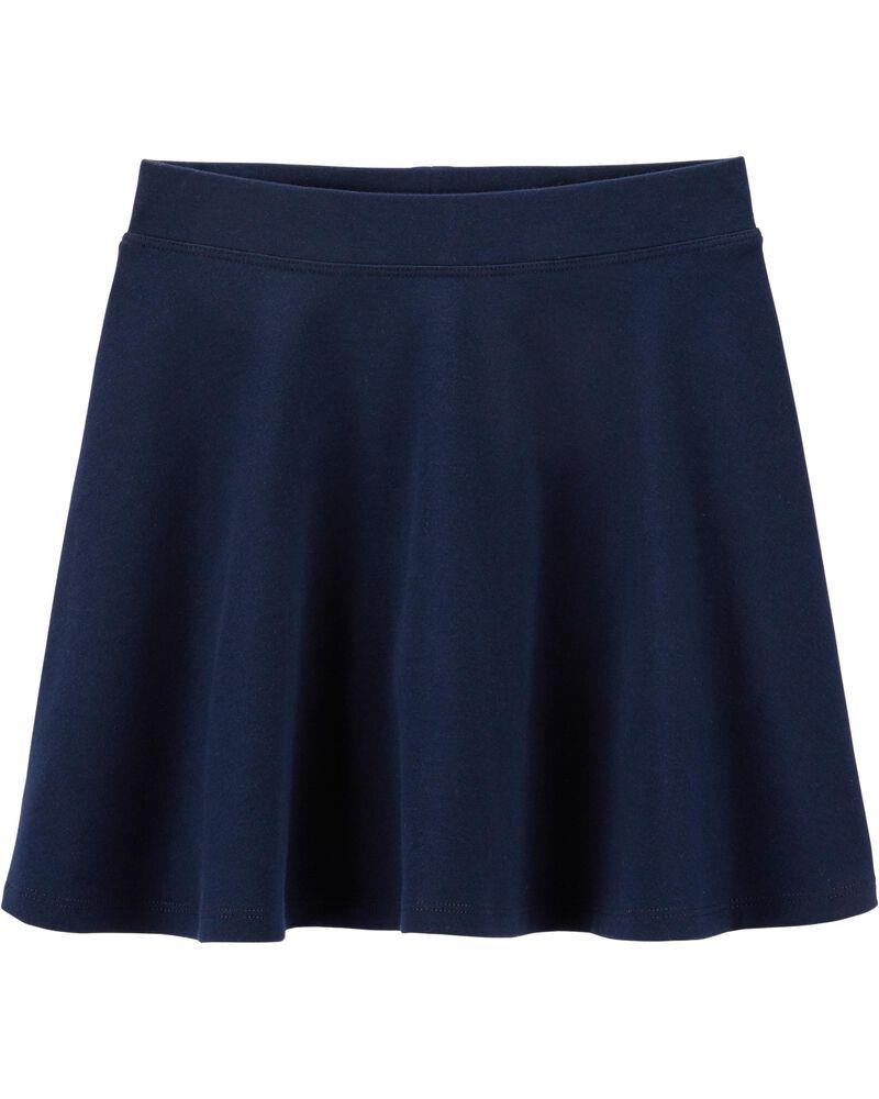 Clearance Navy Baby Skirt Hand Knit Baby Girl Skirt 6 months Blue Skirt for Baby