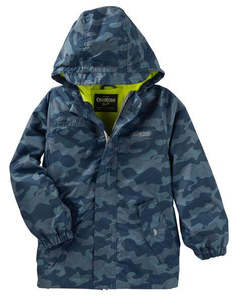 07de836a93f8 Camo Rain Jacket