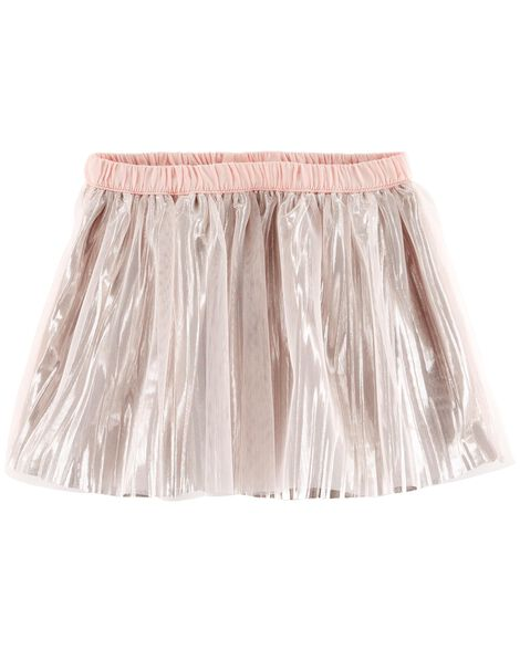Shiny Tulle Skirt