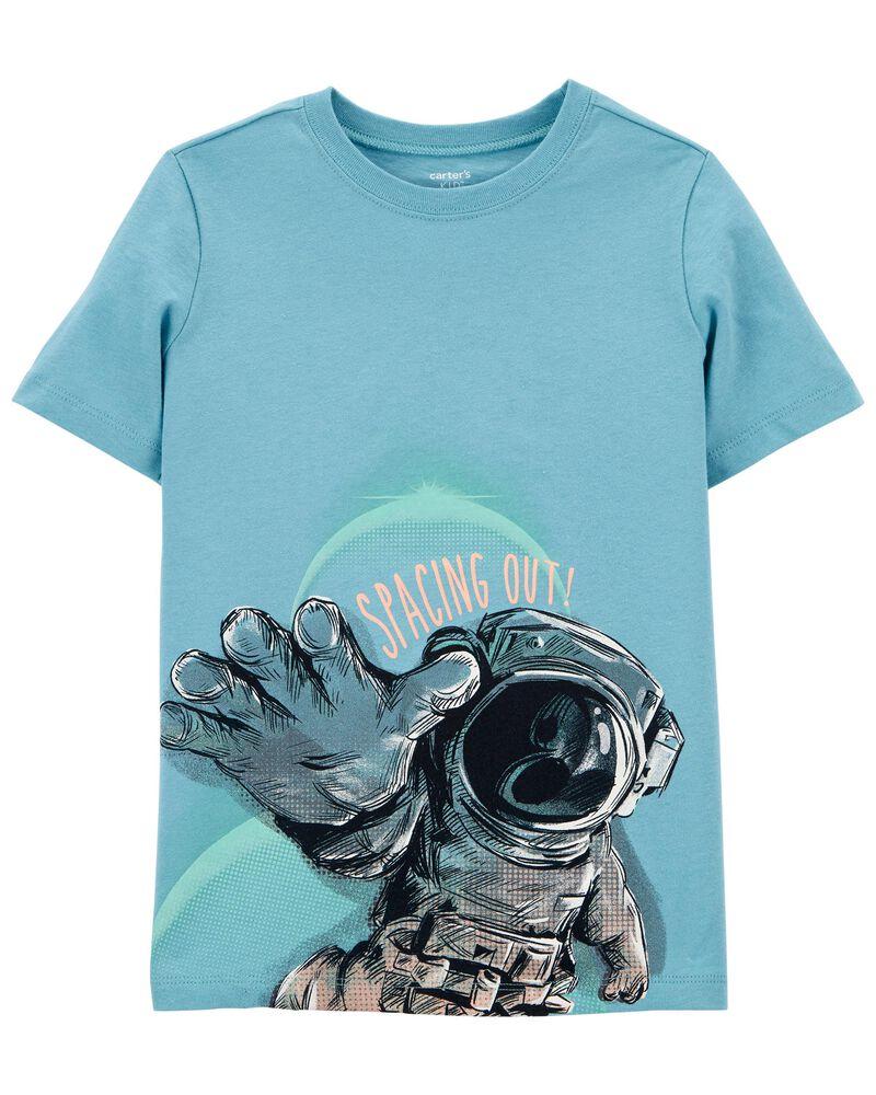 New Carter/'s Astronaut Boys Shirt Top Black Kid size 6,7,8,10,12,14