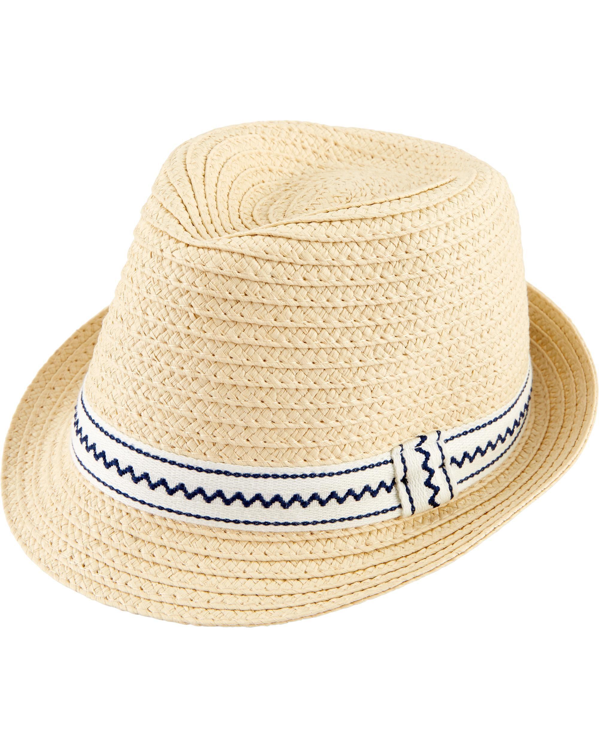 2fa27dffa266e Brimmed Straw Hat
