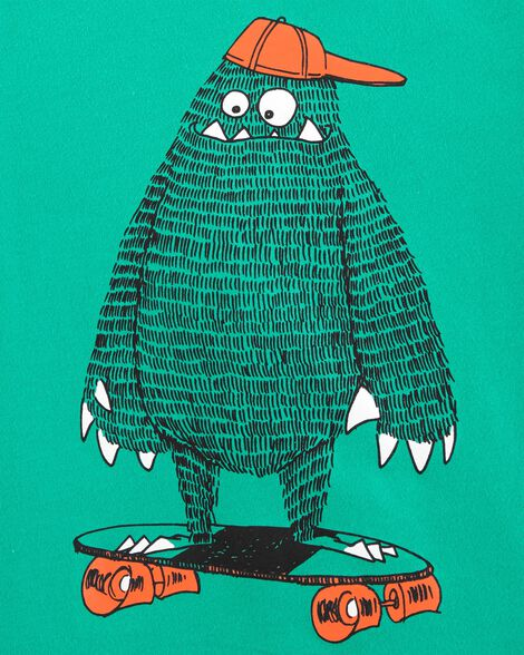 OshKosh Originals Skateboarding Monster Graphic Tee