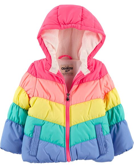 a54e05ed2 Rainbow Bubble Jacket | OshKosh.com