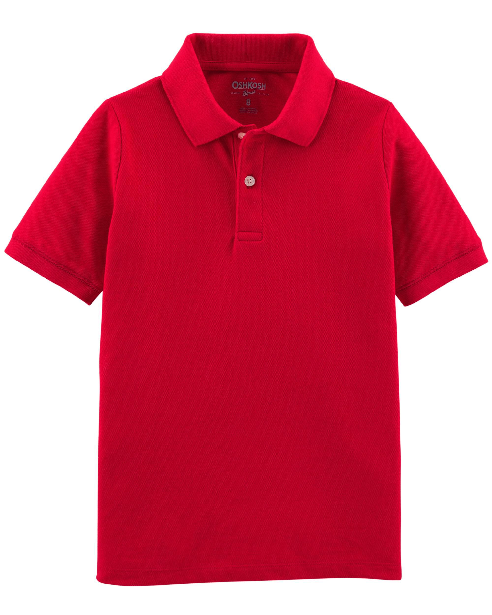 Pique Uniform Polo  sc 1 st  OshKosh & Kid Boy Doorbusters | Oshkosh | Free Shipping