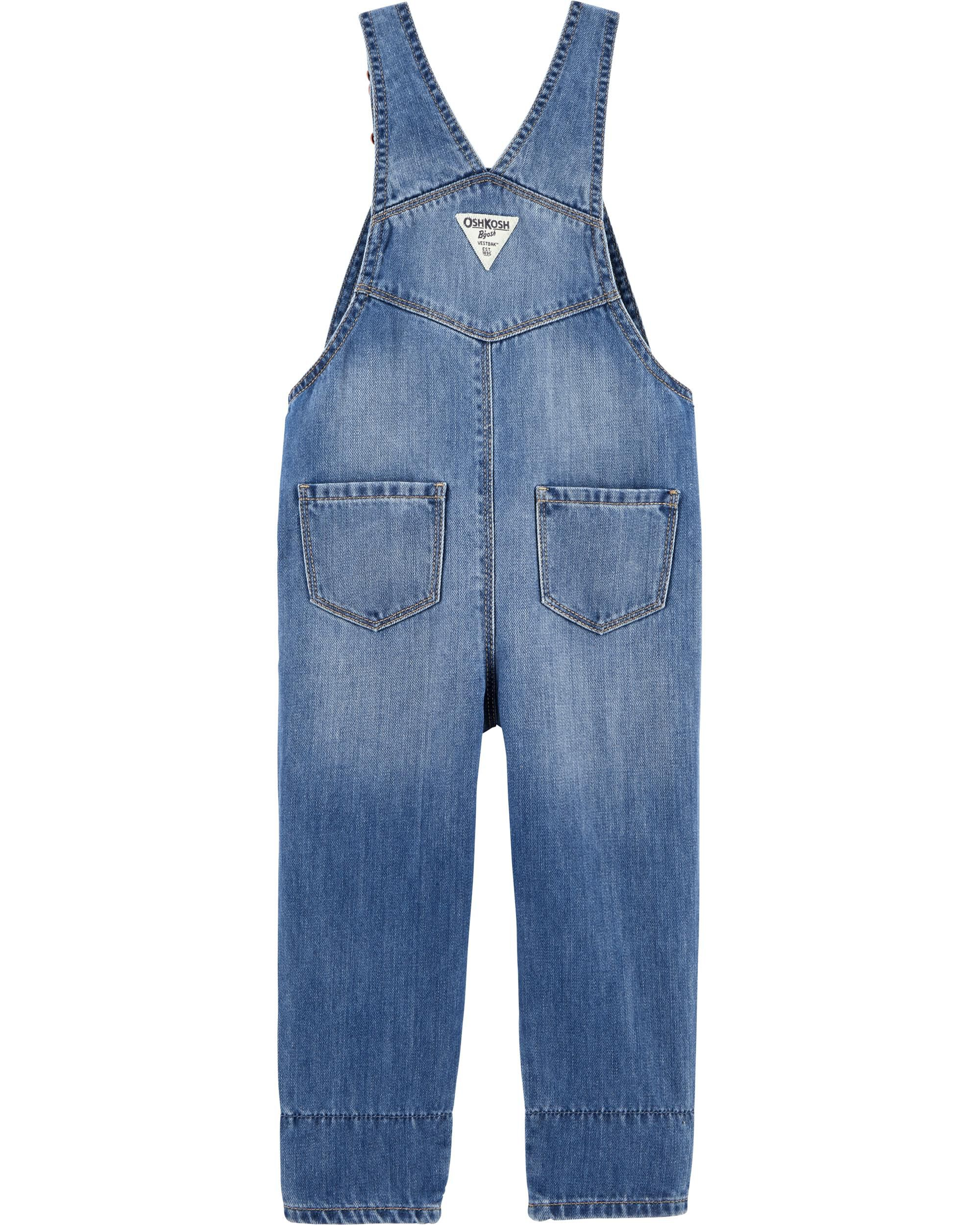 The Cheapest Price Next Baby Boy Girl Denim Look Dungarees With Stars Baby Outfits & Sets